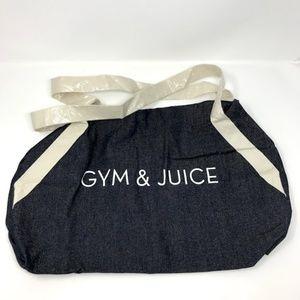 Handbags - Gym & Juice Bag Duffel Denim Shoulder